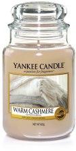 """Парфюмерия и Козметика Ароматна свещ """"Топъл кашмир"""" - Yankee Candle Warm Cashmere"""