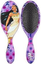"""Парфюмерия и Козметика Четка за коса """"Покахонтас"""" - Wet Brush Disney Princess Original Detangler Pocahontas"""