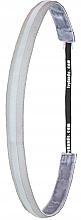 """Парфюмерия и Козметика Лента-ластик за коса """"Light Silver Reflectiv"""" - Ivybands"""