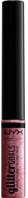 Течна очна линия с блясък - NYX Professional Makeup Glitter Goals Liquid Eyeliner