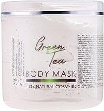 """Парфюми, Парфюмерия, козметика Маска за лице и тяло """"Зелен чай"""" - Hristina Cosmetics Sezmar Professional Body Mask Green Tea"""