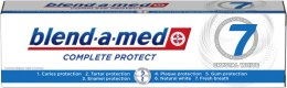 "Парфюми, Парфюмерия, козметика Паста за зъби ""Избелващ ефект"" - Blend-a-Med Complete Protect 7 Crystal White Toothpaste"