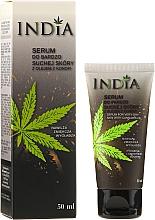 Парфюмерия и Козметика Серум за много суха кожа с масло от коноп - India Serum For Very Dry Skin With Cannabis Oil
