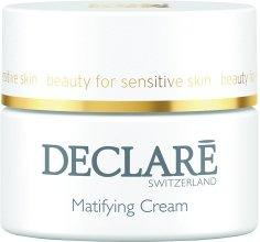 Парфюмерия и Козметика Матиращ и овлажняващ крем - Declare Matifying Hydro Cream