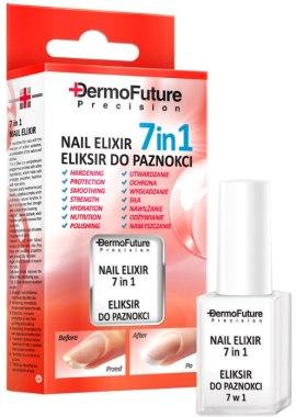 Подхранващ еликсир за ноктите 7в1 - Dermofuture Precision Nail Elixir 7in1 — снимка N1