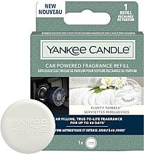 Парфюми, Парфюмерия, козметика Ароматизатор за кола - Yankee Candle Car Powered Fragrance Refill Fluffy Towels (пълнител)
