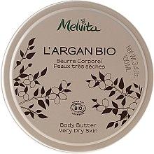 Парфюми, Парфюмерия, козметика Масло за тяло - Melvita L'Argan Bio Body Butter Very Dry Skin