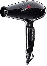 Парфюми, Парфюмерия, козметика Професионален сешоар за коса BAB6350IPE, черен - Babyliss Professional Ionizing Hair Dryer Luminoso Nero