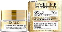 Парфюмерия и Козметика Дневен и нощен изглаждащ крем-серум за лице - Eveline Cosmetics Gold Revita Expert 30+