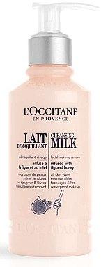 Мляко за премахване на грим - L'Occitane Cleansing Milk Facial Makeup Remover — снимка N1