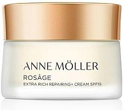 Парфюмерия и Козметика Крем за лице - Anne Moller Rosage Crema Extra Rica SPF15