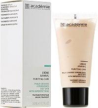 Парфюми, Парфюмерия, козметика Почистващ крем за мазна кожа с несъвършенства - Academie Juvanyl Cream Purifying Care
