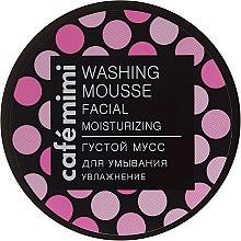 """Парфюми, Парфюмерия, козметика Измиващ мус за лице """"Хидратиране"""" - Cafe Mimi Washing Mousse Facial Moisturizing"""
