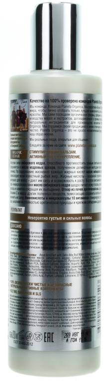 Балсам за коса с масло от сибирски кедър - Planeta Organica — снимка N2