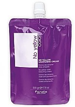 Парфюмерия и Козметика Изсветляващ крем за коса - Fanola No Yellow Violet Bleaching Cream