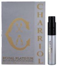 Парфюмерия и Козметика Charriol Royal Platinum - Парфюмна вода (мостра)