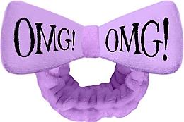 Парфюмерия и Козметика Козметична лента за коса, лилава - Double Dare OMG! Purple Hair Band