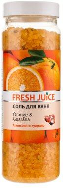Соли за вана - Fresh Juice Orange and Guarana — снимка N1