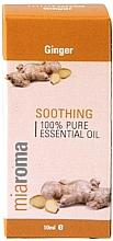 """Парфюмерия и Козметика Етерично масло """"Джинджифил"""" - Holland & Barrett Miaroma Ginger Pure Essential Oil"""