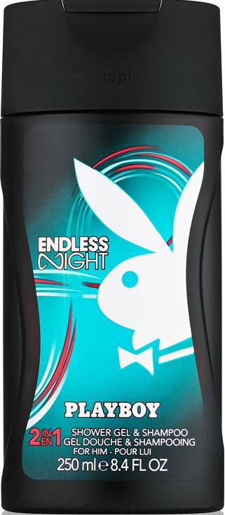 Playboy Endless Night - Шампоан и душ гел 2 в 1