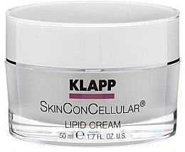 Парфюмерия и Козметика Подхранващ крем за лице - Klapp Skin Con Cellular Lipid Cream