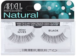 Парфюми, Парфюмерия, козметика Изкуствени мигли - Ardell Natural Lashes Demi Luvies Black