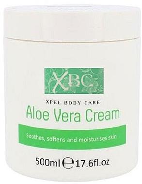 Успокояващ крем за тяло за чувствителна кожа - Xpel Marketing Ltd Body Care Aloe Vera Cream — снимка N1