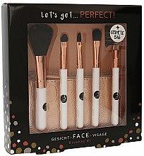 Парфюмерия и Козметика Комплект четки за грим - Cosmetic 2K Let S Get Perfect Brushes Set