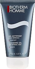 Парфюмерия и Козметика Почистващ и тонизиращ гел за лице, за нормална кожа - Biotherm Homme Gel Nettoyant