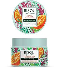 Парфюмерия и Козметика Антицелулитен скраб за тяло - Bisou I feel... Nature Anti-Cellulite Body Scrub Orange & Brown Algae