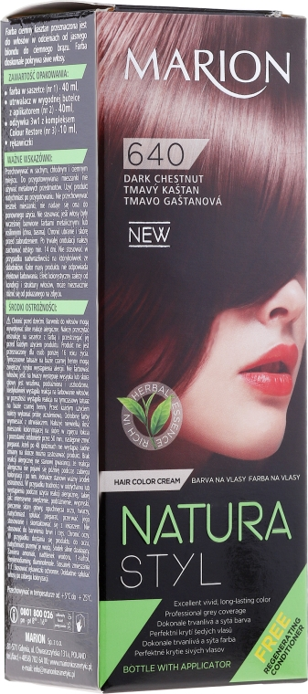 Боя за коса - Marion Hair Dye Nature Style