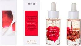 Парфюми, Парфюмерия, козметика Масло за лице с дива роза - Korres Wild Rose Advanced Brightening & NourIshing Face Oil