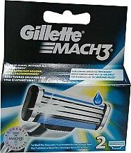 Ножчета за бръснене - Gillette Mach3 — снимка N2