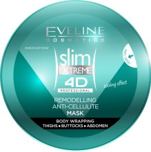 Антицелулитна маска за тяло - Eveline Cosmetics Slim Extreme 4D Body Mask — снимка N2