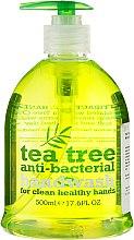 Парфюмерия и Козметика Антибактериален течен сапун за ръце - Xpel Marketing Ltd Tea Tree Anti-Bacterial Handwash