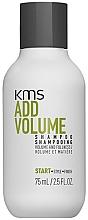 Парфюмерия и Козметика Шампоан за коса - KMS California AddVolume Shampoo (мини)