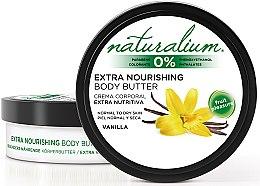 Парфюми, Парфюмерия, козметика Масло за тяло с ванилия - Naturalium Vainilla Extra Nourishing Body Butter