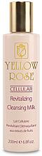 Парфюмерия и Козметика Почистващо мляко за лице със стволови клетки - Yellow Rose Cellular Revitalizing Cleansing Milk