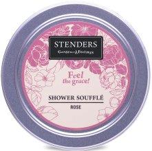 """Парфюмерия и Козметика Мус за душа """"Роза"""" - Stenders Rose Shower Souffle"""
