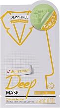 Парфюмерия и Козметика Избелваща маска за лице с лимонова трева - Dewytree Whitening Deep Mask