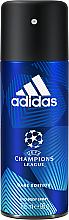 Парфюми, Парфюмерия, козметика Adidas UEFA Champions League Dare Edition Deo Body Spray - Дезодорант