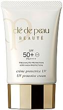 Парфюмерия и Козметика Дневен защитен крем за лице със SPF 50 - Cle De Peau Beaute UV Protective Cream