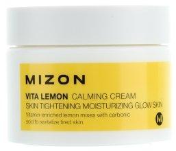 Парфюми, Парфюмерия, козметика Успокояващ, овлажняващ и съживяващ кожата крем-гел - Mizon Vita Lemon Calming Cream