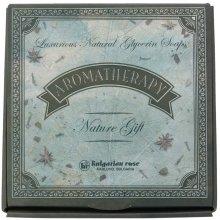 Подаръчен комплект натурални глицеринови сапуни - Bulgarian Rose Aromatherapy Nature Soap — снимка N1