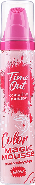 Оцветяващ мус за коса - Time Out Color Magic Mousse