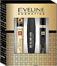 Парфюми, Парфюмерия, козметика Комплект спирала, коректор и серум за мигли - Eveline Cosmetics (mascara/10ml + corrector/9ml + serum/10ml)