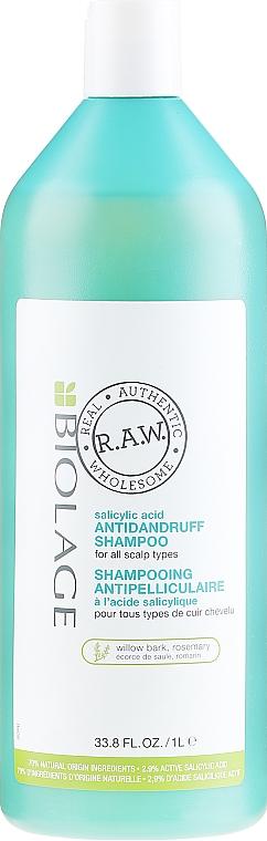 Шампоан против пърхот - Biolage R.A.W. Rebalance Anti-Dandruff Shampoo — снимка N2