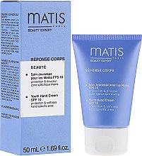 Парфюмерия и Козметика Подмладяващ крем за ръце - Matis Paris Reponse Corps Youth Hand Cream SPF10