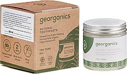Парфюмерия и Козметика Натурална паста за зъби - Georganics Tea Tree Natural Toothpaste