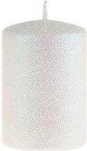 Парфюмерия и Козметика Декоративна свещ, перлена, 7х10 см - Artman Glamour
